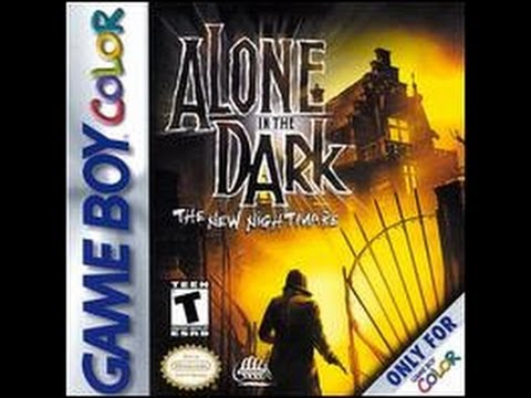 Alone in the Dark : The New Nightmare Game Boy