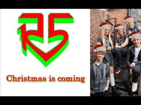 R5 - Christmas is coming (lyrics)