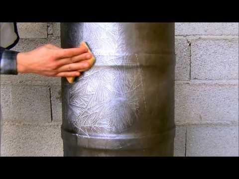 Comment poser une peinture effet metal la r ponse est - Peinture fusion metal ...
