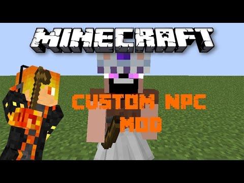 Download Minecraft Mod Showcase: Custom NPC Mod - Notch mặc váy HD Mp4 3GP Video and MP3
