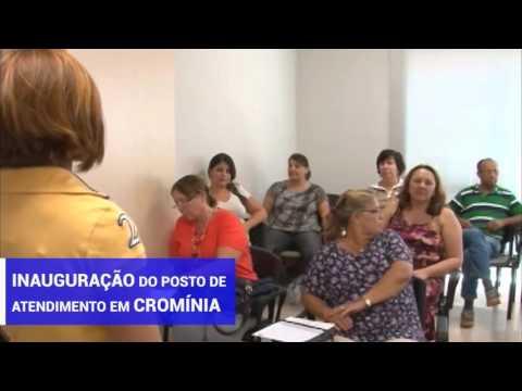 Ipasgo inaugura posto de atendimento em Cromínia