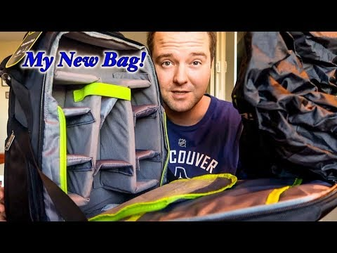 My new bag! Evecase Large DSLR Camera bag! Must Have!! First looks!