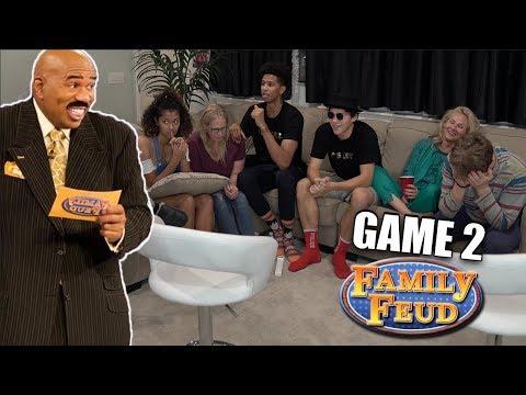 Family Feud vs. JesserTheLazer - FUNNIEST FAMILY GAME EVER! Game 2_Legjobb vicces videók