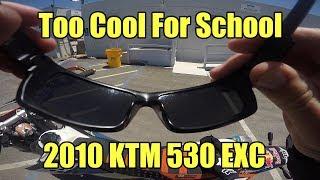 6. 2010 KTM 530 EXC