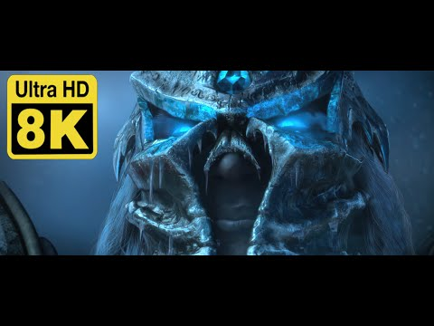World of warcraft Wrath of the lich king cinematic Intro 8k (Remastered with Machine Learning AI)