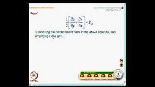 Mod-04 Lec-17 Displacement Field For Mode-I