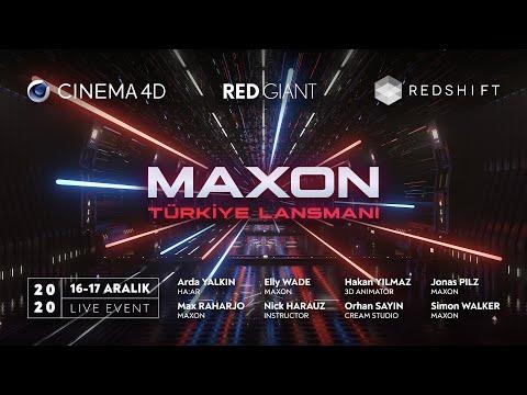 MAXON 2020 Türkiye Lansmanı 1. Gün