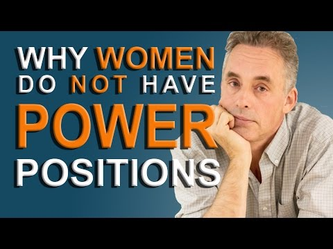 Jordan Peterson - why few women are in positions of power
