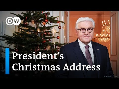 Steinmeier39s Christmas message 39Let39s have more debate!39  DW News
