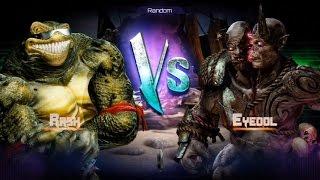 Killer Instinct - Fight 16 - Rash(Holder) vs Eyedol(Challenger)