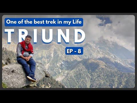 EP 8 Triund Trek Plus Naddi sunset near Mcledoganj Himachal Pradesh
