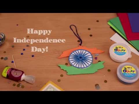 Independence Day Decoration Ideas - Car Dangler