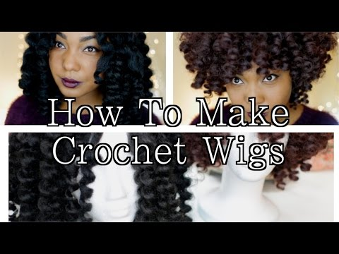 natural - Crochet Wigs are a great winter protective style for your natural hair. They're also an awesome way to try different colors and lengths without permanently a...