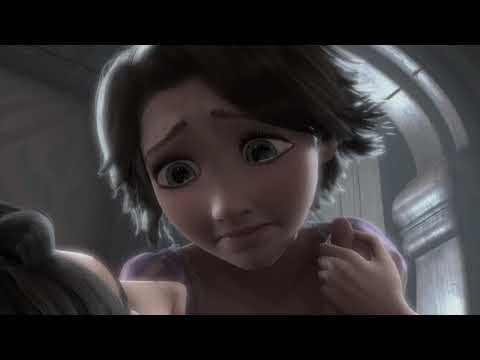 Tangled (2010) - Hair Cutting Scene (9/10) | Cartoon Clips