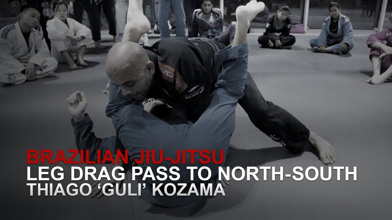 BJJ: Leg Drag Pass To North-South | Evolve MMA