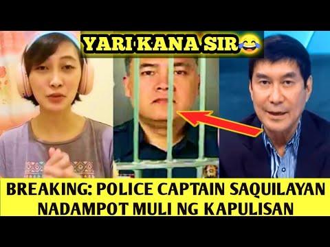 BREAKING: POLICE CAPTAIN SAQUILAYAN BALIK ULI SA KULUNGAN, LADY GRAB DRIVER LATEST UPDATE | PART 9