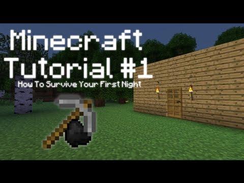 Minecraft Туториал №1 - Как пережить первую ночь