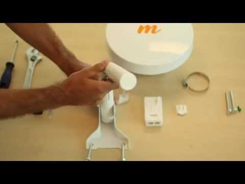 How to install the Mimosa B5-Lite