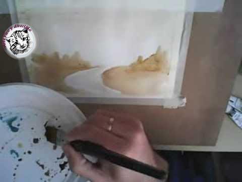 Como pintar a la acuarela t cnica de la aguada tu - Como pintarse bien ...