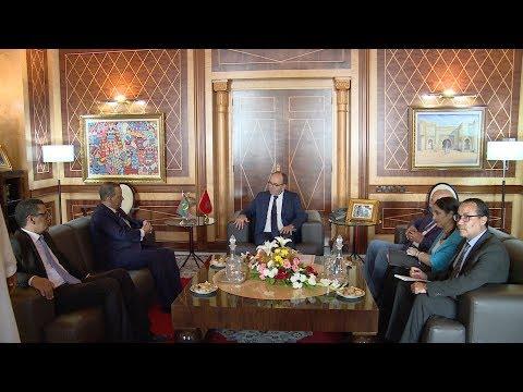 وزير الخارجية الموريتاني يشيد برؤية جلالة الملك للتنمية الاقتصادية في إفريقيا