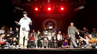 Jaygee vs J.One – Funk Stylers Battle 2016 POPPIN Quarter final
