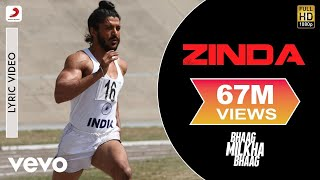 Video Bhaag Milkha Bhaag - Farhan Akhtar | Zinda Lyric MP3, 3GP, MP4, WEBM, AVI, FLV Juni 2019