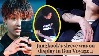 Video ARMY Finally Gets A Peek At BTS Jungkook's Arm Tattoos download in MP3, 3GP, MP4, WEBM, AVI, FLV January 2017