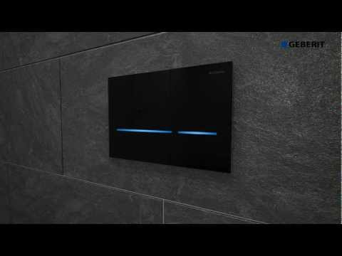 Geberit Sigma80 button installation