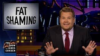 Video James Corden Responds to Bill Maher's Fat Shaming Take MP3, 3GP, MP4, WEBM, AVI, FLV September 2019
