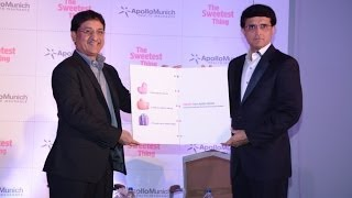 Saurav Ganguly Launches Apollo Munich Health Insurance - BW