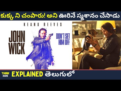 John Wick (2014) Movie Explained In Telugu || John Wick: Chapter 1 Complete Story Explain In Telugu