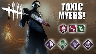 Video Playing As Michael Myers BUT I'm SUPER TOXIC | Dead By Daylight MP3, 3GP, MP4, WEBM, AVI, FLV November 2018