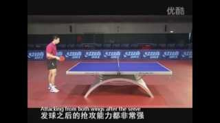 Ma Long - техника настольного тенниса. Фильм 55мин.
