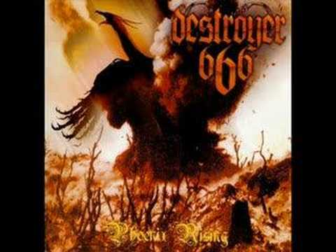 Destroyer 666 - I Am The Wargod online metal music video by DESTRÖYER 666
