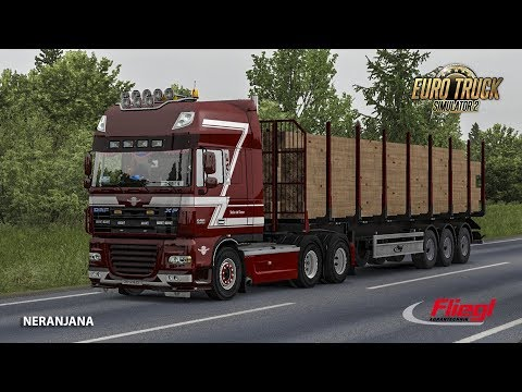 Ownable log trailer Fliegl 1.33.x