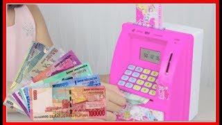 Mainan Tabungan Mesin ATM My Little Pony Pakai Uang Beneran - Kids Save Using Real Money With Toy