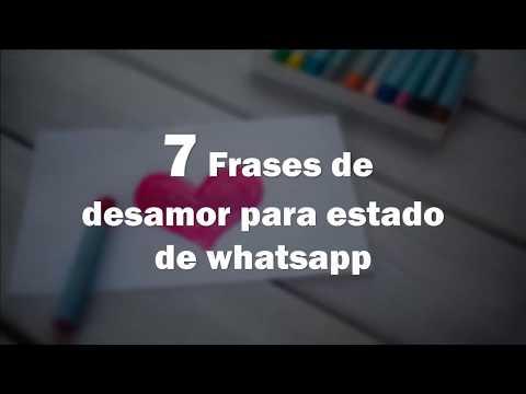 Frases para whatsapp - 7 Frases de desamor para estado de whatsapp