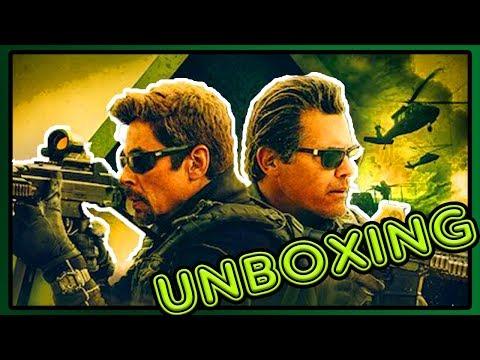 Sicario 2 Day Of The Soldado HMV Exclusive 4K UHD, Blu-Ray, Digital Download Unboxing