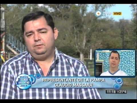 Conocemos a Claudio Massara, La Pampa