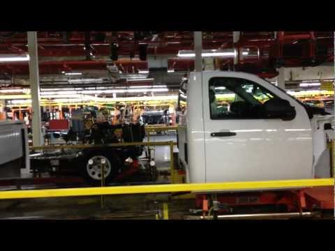 Automated Processes at General Motors plant in Roanoke, IN