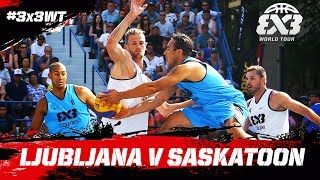 Check out the final game between Ljubljana and Saskatoon from the FIBA 3x3 World Tour Saskatoon Masters 2017!Subscribe to the FIBA3x3 channel: http://bit.do/SubscribeFIBA3x3More on:http://twitter.com/FIBA3x3http://www.facebook.com/FIBA3x3http://fiba3x3.comhttp://instagram.com/FIBA3x3