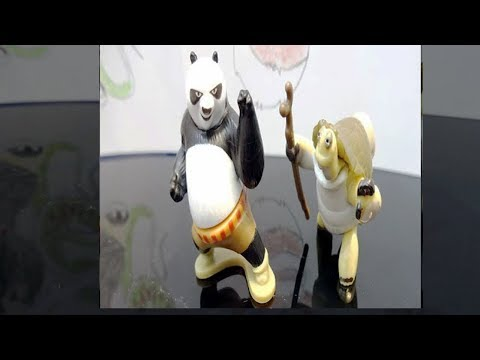 How Do They Look KungFu Panda 3 Kinder Surprise Eggs (Po, Oogway )