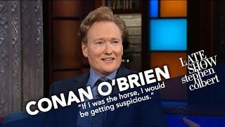 Conan OBrien Didnt Ask David Letterman For A Horse