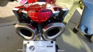2. 2012 Ducati 848 EVO Corse SE Termignoni Exhaust / Competition Werks FE
