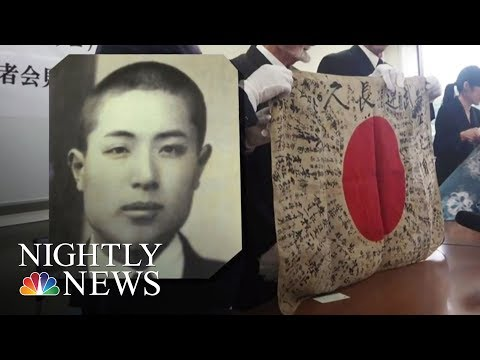 Man Travels 10,000 Miles To Return Flag To Fallen Soldier's Family | NBC Nightly News