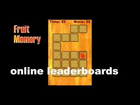 Video of Fruit memory