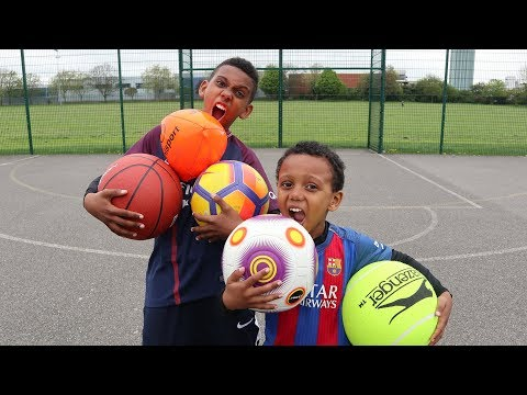MULTI BALL CHALLENGE! VS BRO