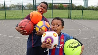 Video MULTI BALL CHALLENGE! VS BRO MP3, 3GP, MP4, WEBM, AVI, FLV Oktober 2018