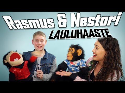 Vatsastapuhuja Rasmus Koskinen / LAULUHAASTE ft. Sari Aalto видео