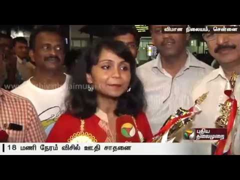 Indian-origin-Swetha-Wins-World-Whistling-competition-in-Tokyo